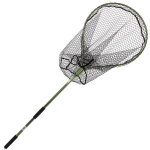 Snowbee Folding Salmon / Pike Net with Rubber Mesh