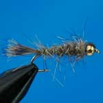 Gold Ribbed Hares Ear Lure L/S Trout Fishing Fly