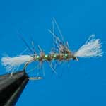 Shipman's Buzzer Hares Ear Nymph Trout Fishing Fly #12 (N219)