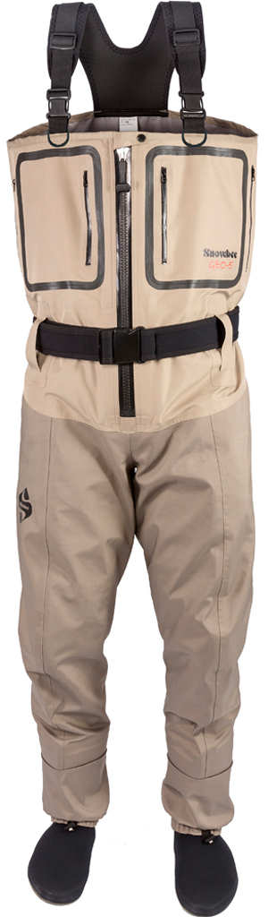Snowbee Geo-5 Breathable Waders - Short Fit - 11190S
