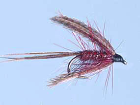 Turrall Wet Winged Dabbler Claret - Ww55
