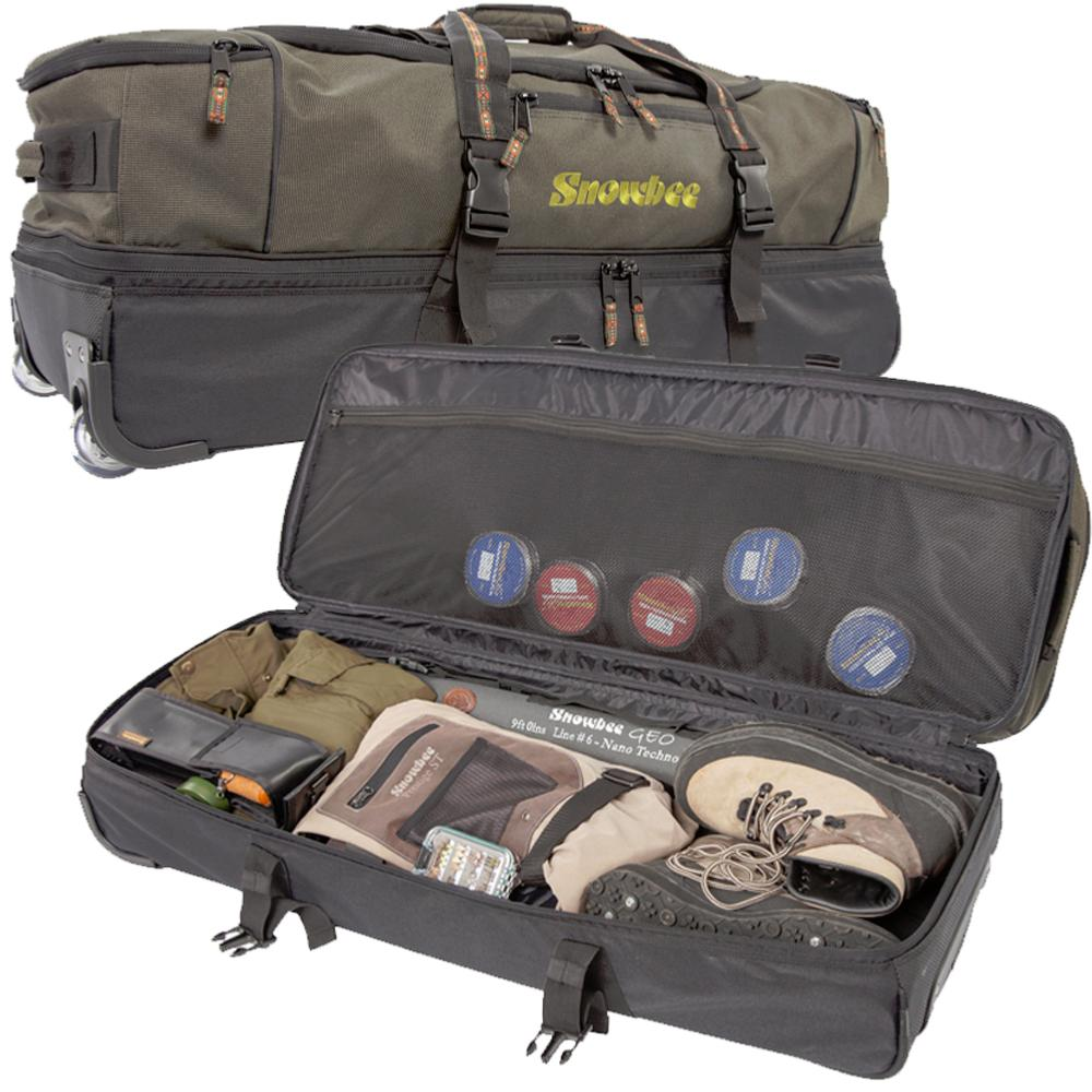 Snowbee xs travel bag 16447 for Fly fishing luggage