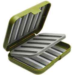 Richard Wheatley Comp-Lite Swingleaf Fly Box - 9402