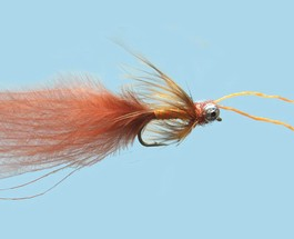 Turrall Damsel Nymphs Kicking Damsel Fiery Brown - Kd02