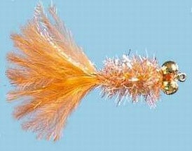 Turrall Fritz Dumbell Nymph Orange - FD04