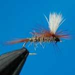 Hares Ear Parachute Dry Trout Fishing Fly