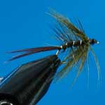 Mayfly Olive Partridge Special Dry Trout Fishing Fly #14 (D576)