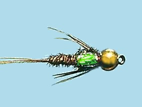 Turrall Bead / Gold Head Pheasant Tail Flash Back - Bh25