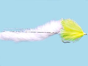 Turrall Pike Fly Bunny Chartreuse - Pi09
