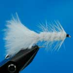 Tadpole White Lure L/S Trout Fishing Fly