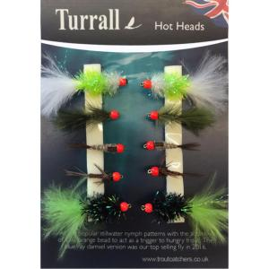 Hot Heads Turrall Fly Selection - HHS