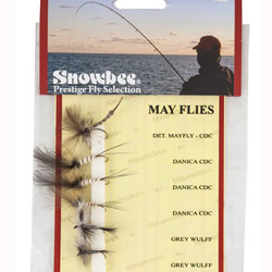 Snowbee Mayfly Barbed Fly Selection - SF201