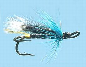 Turrall Double Salmon Blue Charm - Ds04