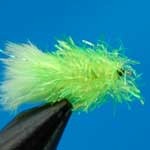 Lime Blob Trout Fishing Fly #12 (Bl5)
