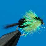 Montana Lime Fritz Nymphs Trout Fishing Fly #10 (Fr26)