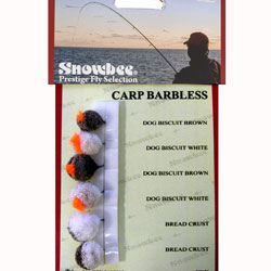 Snowbee Carp Barbless Fly Selection - SF121