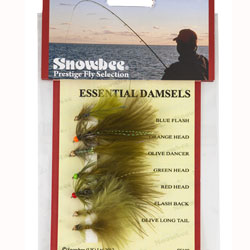 Snowbee Essential Damsels Fly Selection - SF108