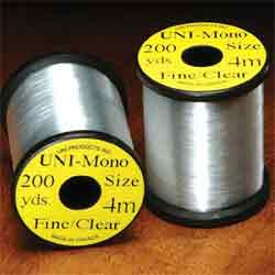 Uni Mono Clear Tying Thread