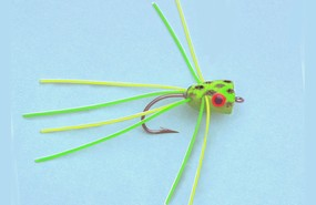 Turrall Leggy Frog Trout Popper - Po07