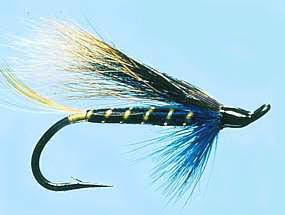 Turrall Salmon Fly Hairy Mary - Ss06