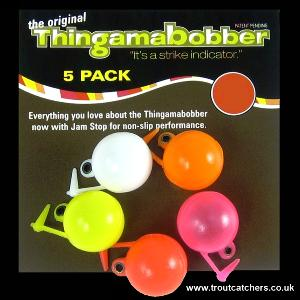 "1/2"" Thingamabobber Multi-Coloured Strike Indicator - 5 Pack"