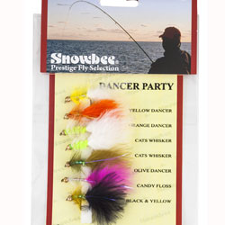 Snowbee Dancer Party Fly Selection - SF109