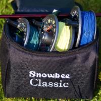 Snowbee Classic2 Fly Reel #5/6 COMBI Kit - Reel + 2 Spare Spools & Case - 10561