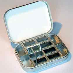 Richard Wheatley Compartment Fly Box - 1407F