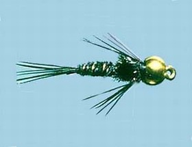 Turrall Bead / Gold Head Pheasant Tail Black - Bh24