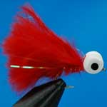 Scarlet Booby Trout Fishing Fly #10 (Bo23)