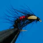 Snatcher Bibio Jc Wet Trout Fishing Fly #12 (W212)