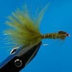 Damsel Marabou Wtd Ls Nymphs Trout Fishing Fly #12 (N496)