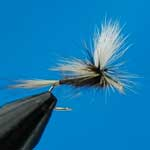 Grey Duster Parachute Dry Trout Fishing Fly