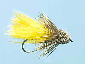 Turrall Muddler Marabou Yellow - Mu09