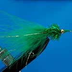 Nomad Green Gh Lure L/S Trout Fishing Fly #10 (L277)