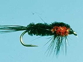 Turrall Weighted Nymph Montana Orange - Wn07