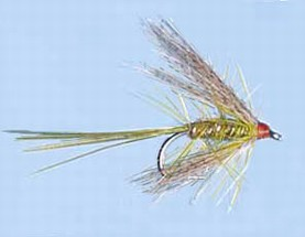 Turrall Wet Winged Dabbler Olive - Ww56
