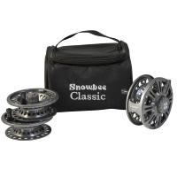 Snowbee Classic2 Fly Reel #7/8 Kit - Reel + 2 Spare Spools & Case - 10562