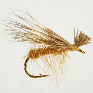 Turrall Caddis /Sedge - Elk Hair Hi-Vis Tan - Ca16