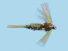 Turrall Damsel Nymphs Thorax Demoiselle - Th01