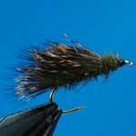 Olive Sedge Hog Special Dry Trout Fishing Fly