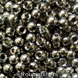 25 X Metal Beads - Silver