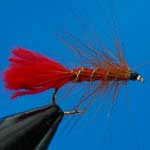 Soldier Palmer Wet Trout Fishing Fly #10 (W241)