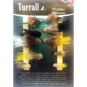 Muddler Minnow Turrall Fly Selection - MUS