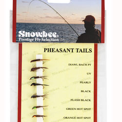 Snowbee Pheasant Tail Fly Selection - SF106