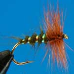 Bobits Olive Dry Trout Fishing Fly