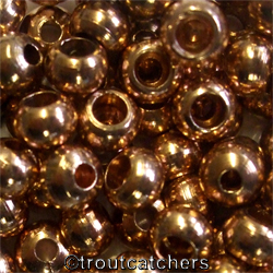 25 X Metal Beads - Copper