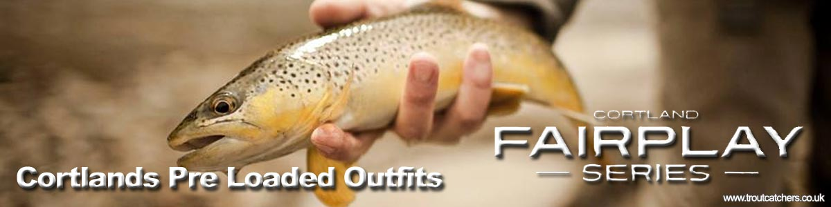 Cortland Pre Loaded Outfit, Pre Loaded Fairplay Fly Fishing Kit