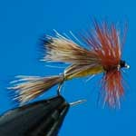 Humpy Sedge Special Dry Trout Fishing Fly #14 (D536)