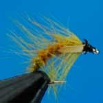 Snatcher Amber Jc Wet Trout Fishing Fly #12 (W210)